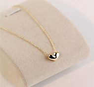 cheap -Women's Heart Statement Necklace - Love Heart Necklace For
