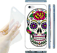 For iPhone 6 Case iPhone 6 Plus Case Case Cover Pattern Back Cover Case Skull Soft TPU for iPhone 6s Plus iPhone 6 Plus iPhone 6s iPhone 6