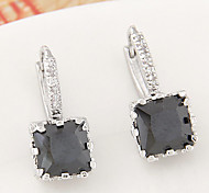 cheap -Women's Zircon Cubic Zirconia Stud Earrings - Fashion For