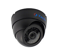 YanSe® 1000TVL 2.8mm Plastic indoor D/N CCTV Camera IR 24 LED Dome Wired 632CF