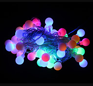 50-led 9m wasserdichte outdoor-urlaub dekoration rgb licht led string licht (ac220v)