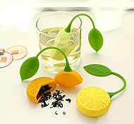 cheap -Silicone Manual Lemon 1pc Tea Strainer / Gift / Daily