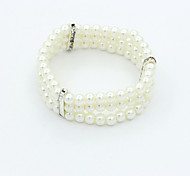 cheap -Cute Others 1pc Strand Bracelet - Unique Design Vintage Party White Bracelet For Party Gift Valentine