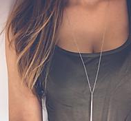 Недорогие -Женский Мода Ожерелья с подвесками Сплав Ожерелья с подвесками , Для вечеринок Повседневные