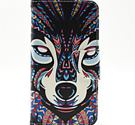 Для Кейс для Nokia Кошелек / Бумажник для карт / со стендом Кейс для Чехол Кейс для Животный принт Твердый Искусственная кожа NokiaNokia