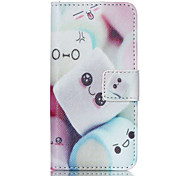 cheap -Cotton Candy PU Leather Full Body Case with Screen Protector And Stand for iPod Touch 5