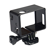 LCD Display Screen Smooth Frame Case/Bags Screw Mount / Holder For Action Camera Gopro 3 Gopro 2 Gopro 3+ Film and Music Bike/Cycling