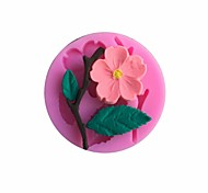 Peach Blossom Peach blossom Shaped  Fondant Mold Cake Decoration Mold