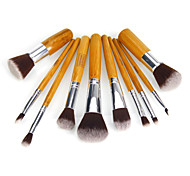 10 Makeup Brushes Set Nylon Eco-friendly Others Cosmetic Beauty Care Makeup for Face
