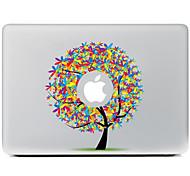 Недорогие -цвет дерева Декоративные наклейки кожи для MacBook Air / Pro / Pro с сетчатки дисплей