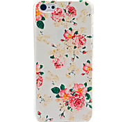 Beautiful Flower Pattern Hard Case for iPhone 5C iPhone Cases