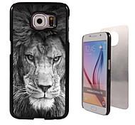 The Fierce Lion Design Aluminum High Quality Case for Samsung Galaxy S6