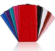 superfície de luz cor YMX-sólido couro pu corpo inteiro carteira caixa protetora para g620s Huawei Ascend (cores sortidas)