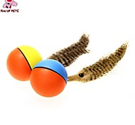 Cat Toy Dog Toy Pet Toys Ball Feather Toy Electronic Plastic For Pets