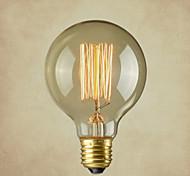 cheap -COSMOSLIGHT 1pc 40W E27 E26/E27 E26 G80 Warm White 2300 K Incandescent Vintage Edison Light Bulb AC 220V AC 110-130V AC 220-240V V