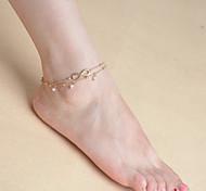 Недорогие -женская многослойные кисти жемчужина цепь одного браслет