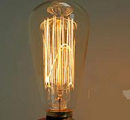 40w e27 edison ST64 retro light bulb (220-240V)