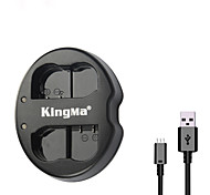 KingMa® Dual Slot USB Battery Charger for Nikon EN-EL15 Battery for Nikon D750 D7100 D7000 D610 D600 D800E Camera