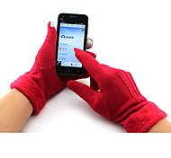 Перчатки Спортивные перчатки Жен. Перчатки для велосипедистов Осень / Зима ВелоперчаткиСохраняет тепло / Дышащий / Ветронепроницаемый /