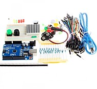 Новый стартовый комплект UNO R3 мини макет привело кнопку проволочная перемычка для Arduino Compatile