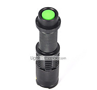 5 LED Flashlights / Torch LED 2200 lm 5 Mode Cree XM-L T6 Mini Impact Resistant Rechargeable Waterproof Strike Bezel Tactical Emergency