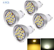 Недорогие -YouOKLight 6W 450-500 lm GU10 Точечное LED освещение MR16 15 светодиоды SMD 5630 Декоративная Тёплый белый Холодный белый AC 85-265V