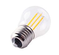 cheap -HRY 1pc 1000 lm E26/E27 LED Filament Bulbs A60(A19) 4 leds High Power LED Decorative Warm White Cold White AC 220-240V