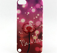 Dandelion Painting Pattern TPU Soft Case for iPod Touch 5 iPod Cases/Covers