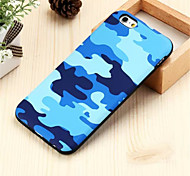 Недорогие -военного камуфляжа задняя крышка для iphone 6с 6 плюс