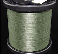 1000M / 1100 Yards PE Braided Line / Dyneema / Superline Fishing Line White / Yellow / Gray / glass green8LB / 20LB / 25LB / 30LB / 35LB Multifilament