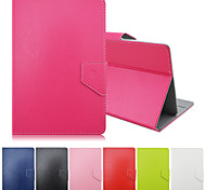 Solid Colors Pattern High Quality PU Leather with Stand Case for 7 Inch Universal Tablet