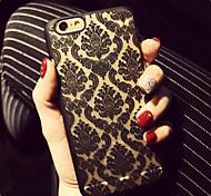 Недорогие -Ретро цветочный узор рельеф ажурные печать материал ПК телефон случае для Iphone 6 плюс / IPhone 6s плюс
