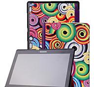 """Недорогие -застенчивый кожаный чехол крышка подставка медведь ™ для вкладке Lenovo A10 2 a10-70 10.1 """"планшета"""