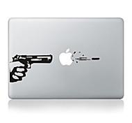 """Недорогие -дизайн пистолет декоративные наклейки кожи для MacBook 13 """"воздух / про"""
