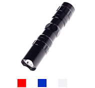 cheap -324 LED Flashlights / Torch LED 100~240 lm 1 Mode - Mini Waterproof Small Size Camping/Hiking/Caving Everyday Use Traveling Black Red Blue