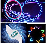 Wheel Lights LED - Cycling Color-Changing CR2032 90 Lumens Battery Cycling/Bike Driving Motocycle