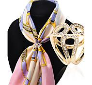 Недорогие -Женский Броши Мода Pоскошные ювелирные изделия бижутерия Искусственный бриллиант Сплав Бижутерия Назначение Свадьба Для вечеринок Особые