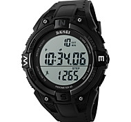 SKMEI® Men's Digital Sports Watch Pedometer / Chronograph / Alarm / Water Resistant Cool Watch Unique Watch Fashion Watch