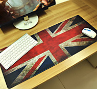 cheap -British flag Customized Rectangle Non-Slip Rubber Super Large Size Gaming Mouse Pad Mat  (67*30*0.3cm)
