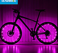 cheap -LEADBIKE Bike Light Wheel Lights 2 Mode Bike Battery AAA Rechargeable / Easy to Carry Cycling Green / Pink / Red