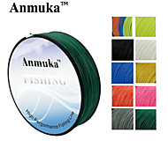 cheap -100M Anmnka Brand  Super Strong Japan Multifilament PE Braided Fishing Line 8 ~ 80LB
