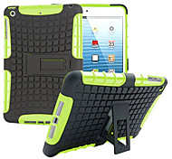 cheap -Case For iPad Mini 3/2/1 Shockproof with Stand Back Cover Armor PC for iPad Mini 3/2/1