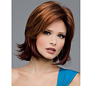cheap -Synthetic Wig Wavy Women's Capless Short Synthetic Hair