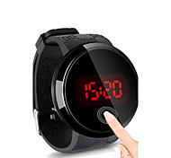 cheap -Relogio Masculino Men's LED Touch Screen Digital Silicone Waterproof Date Clock Watches Men Sports Watch Fashion Wrist Watch Cool Watch Unique Watch