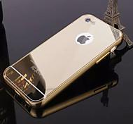 Недорогие -Кейс для Назначение iPhone 5 Apple iPhone 8 iPhone 8 Plus Кейс для iPhone 5 Покрытие Зеркальная поверхность Кейс на заднюю панель