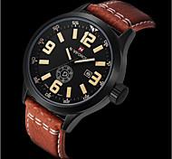 Men Sports Watches Men's Quartz Hour Date Clock Man Leather Strap Military Army Waterproof Wrist Watch Male Relogio Cool Watch Unique Watch