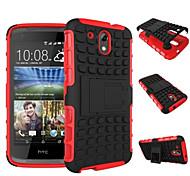 preiswerte -Hülle Für HTC HTC Hülle Stoßresistent mit Halterung Rückseite Rüstung Hart PC für