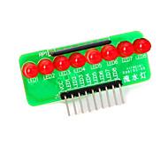 8-главе красный свет полосы микроконтроллер модуля - зеленый + красный