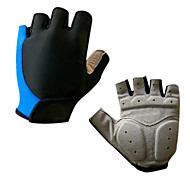 cheap -Sports Gloves Bike Gloves / Cycling Gloves Wearable Breathable Wearproof Cushion Fingerless Gloves Silicone Synthetic Leather Gel Lycra