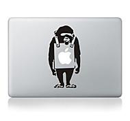 """Недорогие -мультфильм дизайн обезьяна декоративные наклейки кожи для MacBook 13 """"воздух / про"""